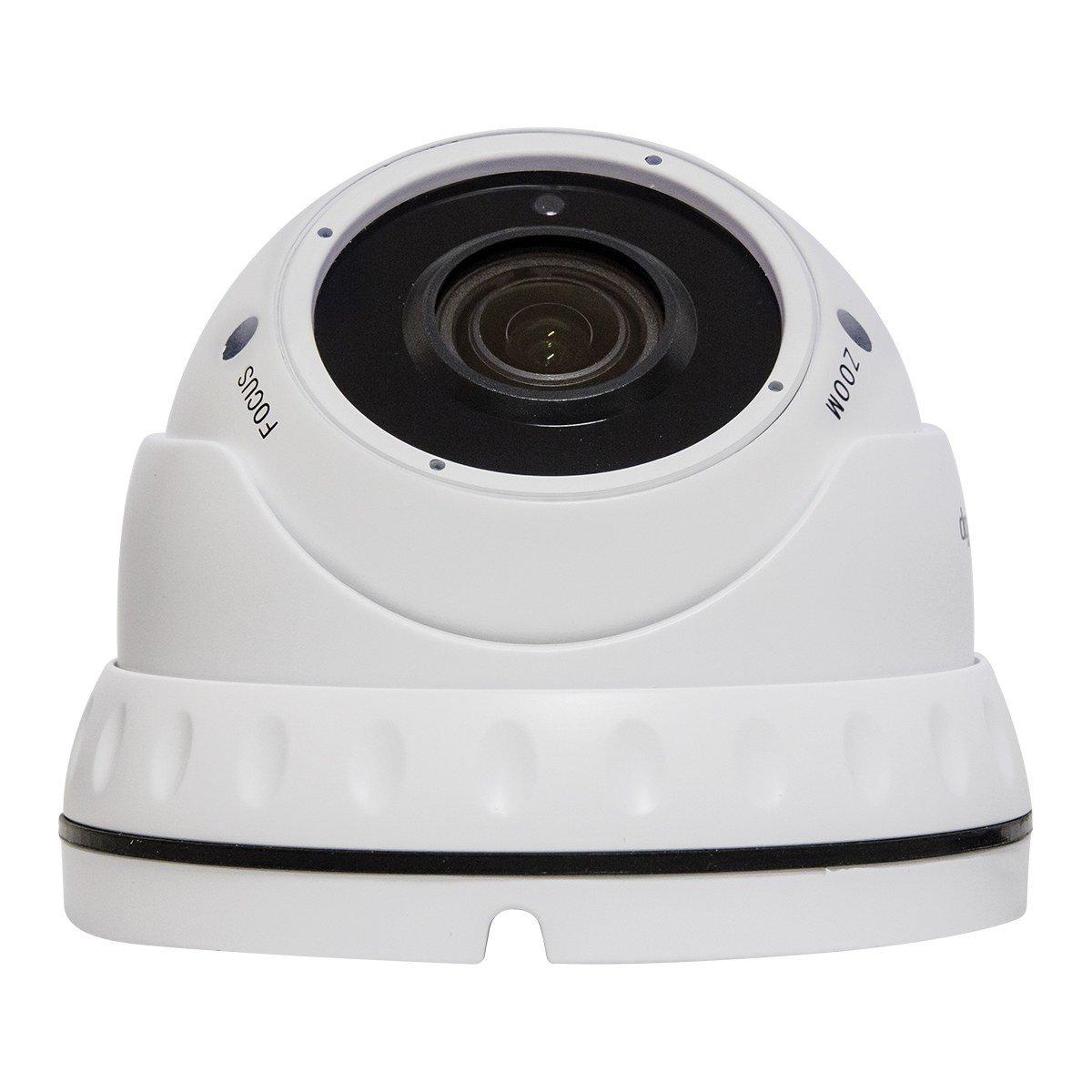 Telecamera IP PoE - 5 Megapixel - Varifocale 2,8-12mm - 24 LED