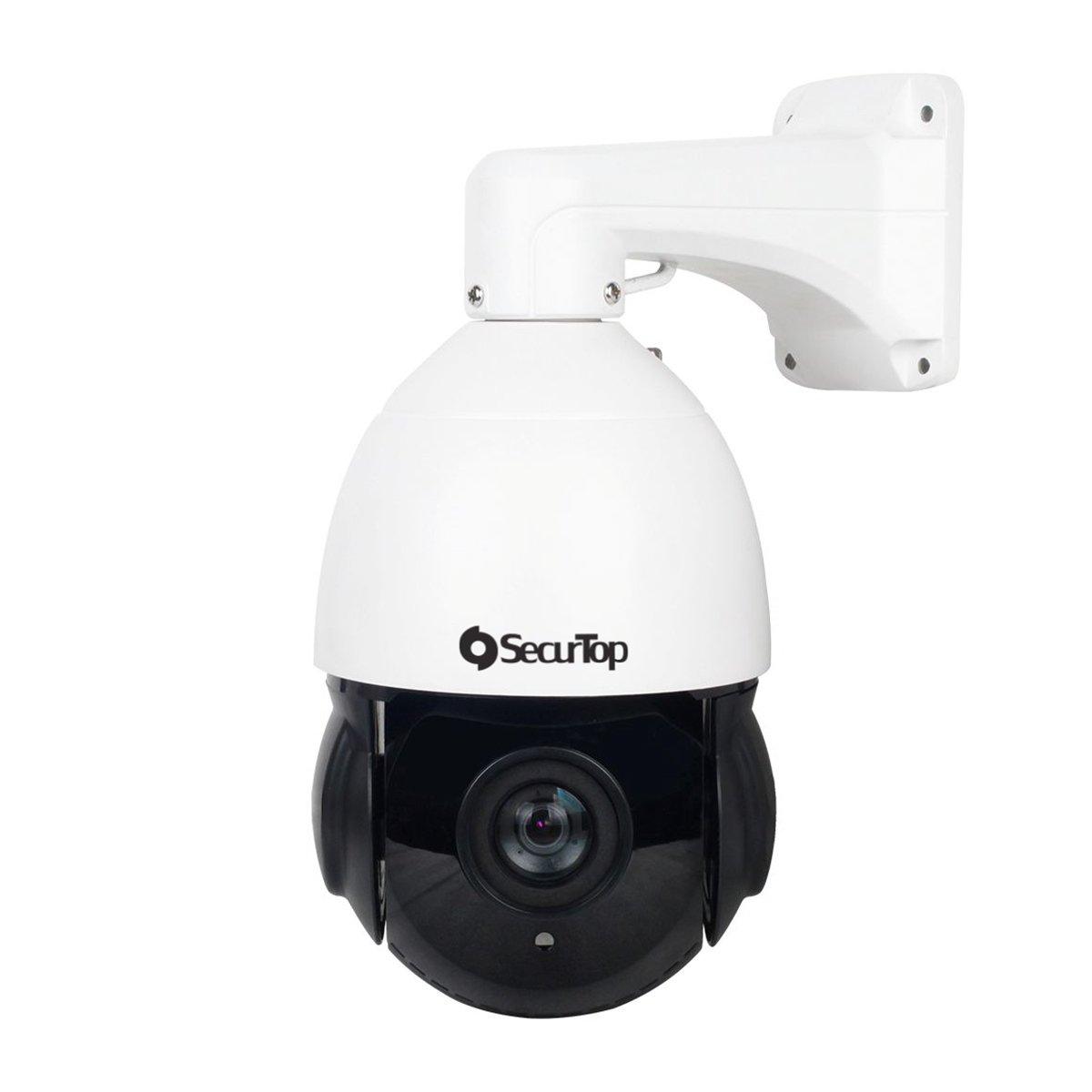 Telecamera PTZ 2 Megapixel con Intelligenza Artificiale - Zoom 5.35-96.3mm (18X)