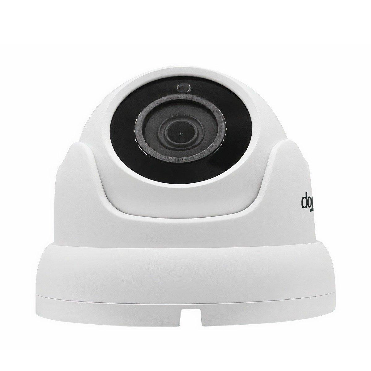 Telecamera 4K Lite Dome - Focale Fissa 3,6mm - 18 LED SMD da 14µ