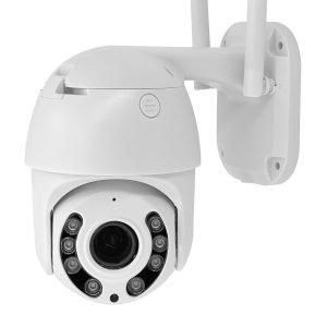 Telecamera IP Wi-Fi PTZ - Intelligenza Artificiale - 2 Megapixel - Zoom 4X