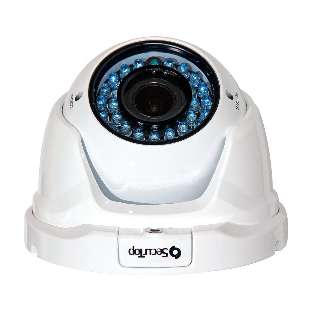 Telecamera 1 Megapixel - Varifocale 2,8-12mm - 35 LED