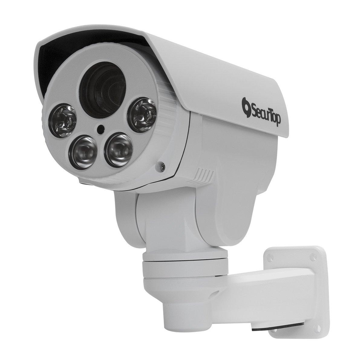 Telecamera Motorizzata - 2 Megapixel - Varifocale 5.1-51mm - 4 LED Array