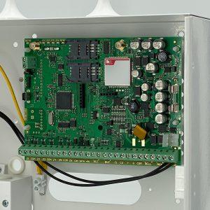 Centrale a microprocessore ESIM364, fino a 32 dispositivi senza fili con 6 zone cablate a bordo - img2