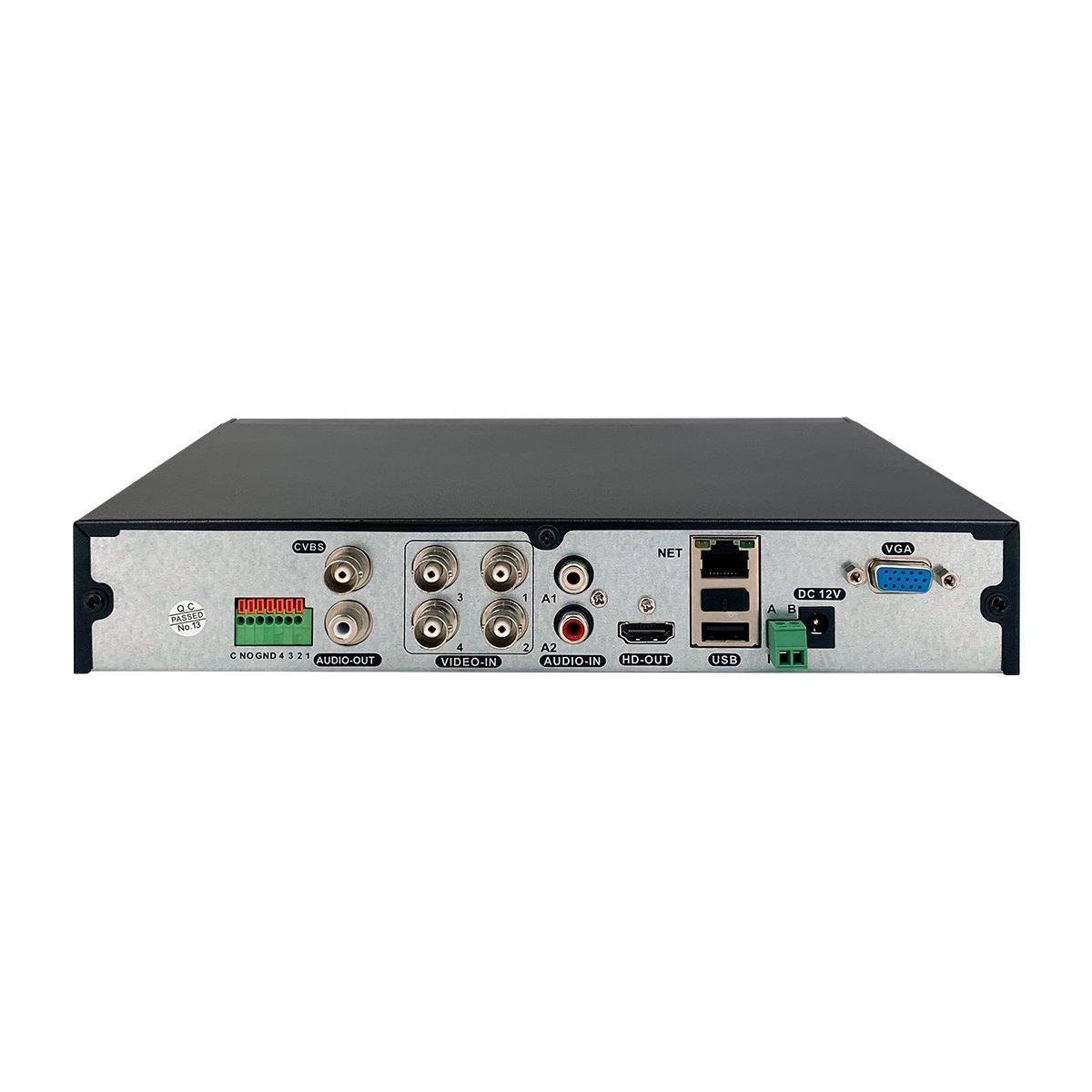 XVR 4K 4 Canali 5in1 - Intelligenza Artificiale - Cloud - 8Mpx