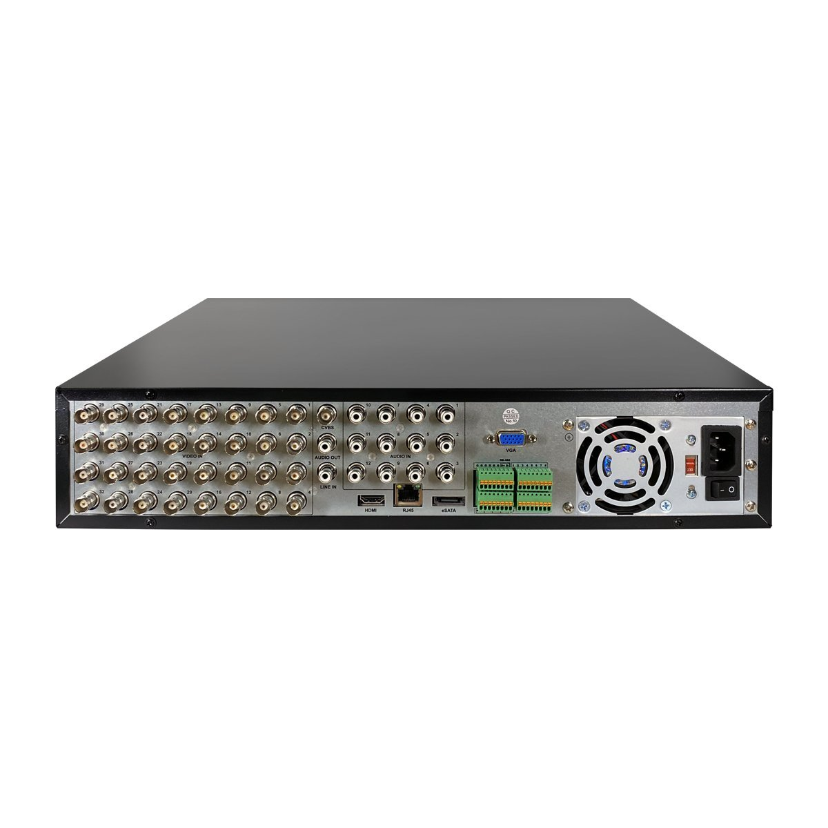 XVR 4K 32 Canali 5in1 - Cloud - 8Mpx - 16 Ingressi Allarme