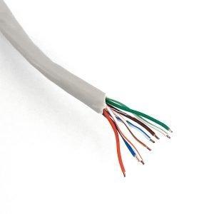 Cavo di rete U/UTP Cat. 5e - 4x2x24AWG - PVC grigio - box 305m - img2